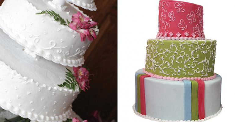 In-store bakeries step up wedding cakes