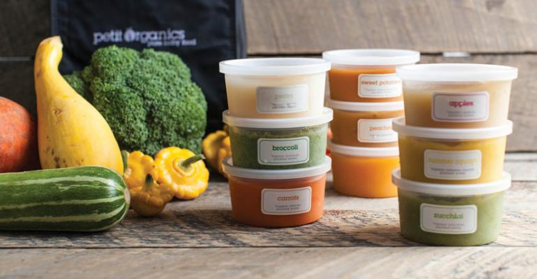 Fresh and easy baby food