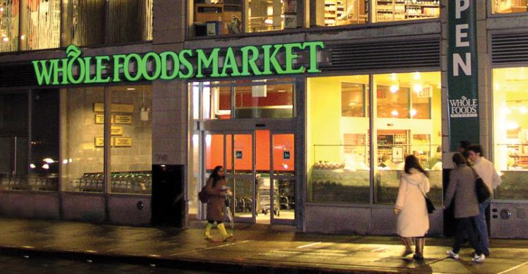 Whole Foods announced is it purchasing four New Frontiers Natural Marketplace natural food stores