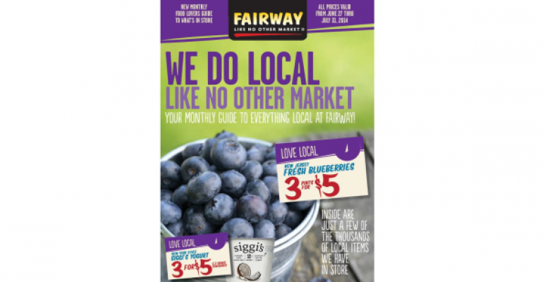Fairway to produce monthly local product guide