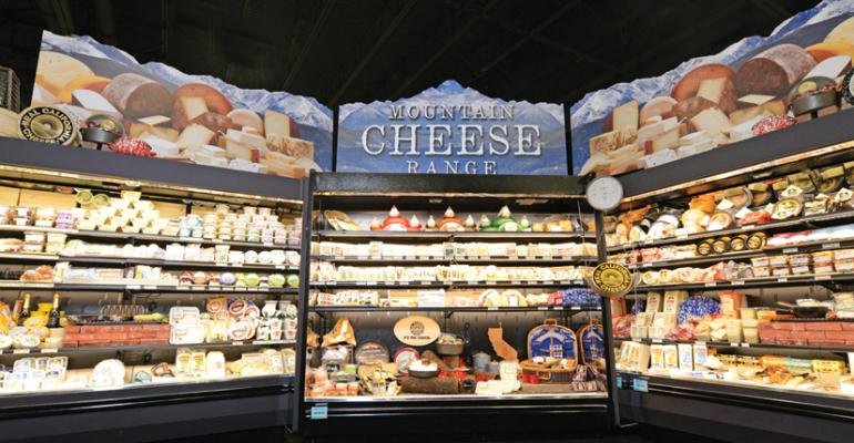 The Show amp Sell Center displayed a wide variety of cheeses for different occasions