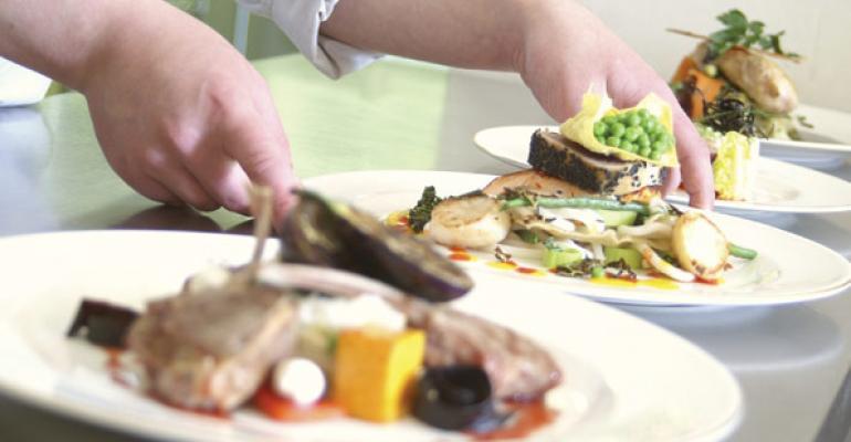 Prepared foods are restaurant menu driven