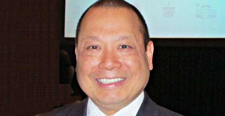 Ronald Fong president and CEO of the California Grocers Association