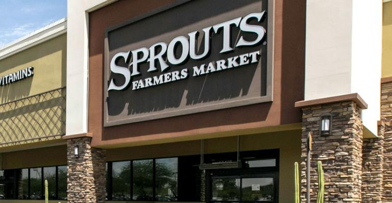 Sprouts blooming in Atlanta