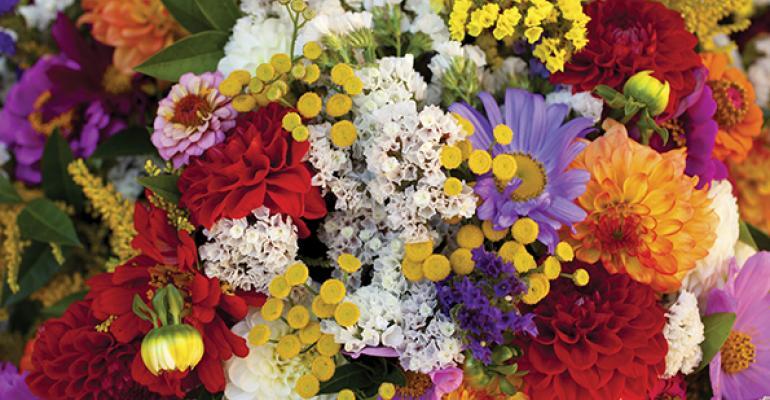 Floral fads favor intense colors, bigger bouquets