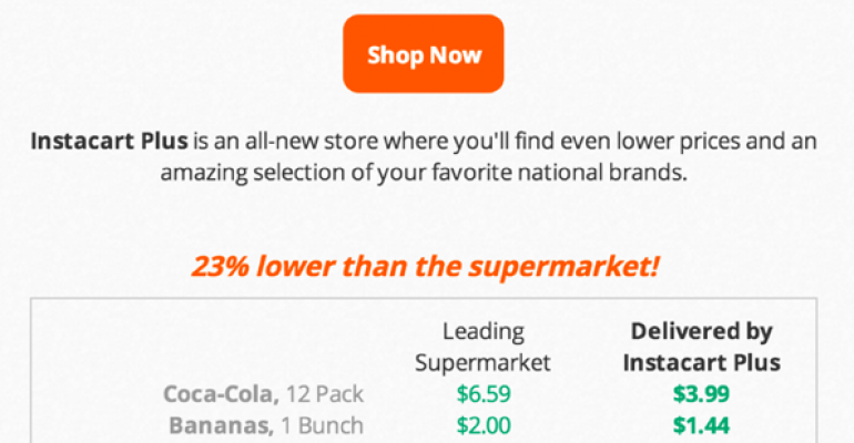 Whole Foods to offer delivery, pick-up with Instacart