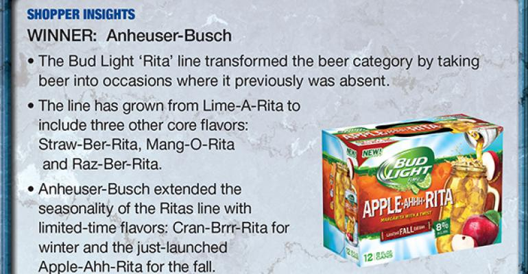 Anheuser-Busch: 2014 Supplier Leadership Award winner for Shopper Insights