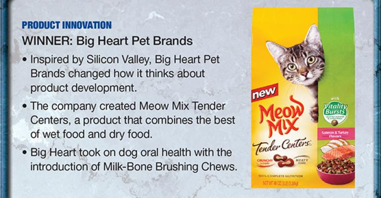 Big Heart Pet Brands: 2014 Supplier Leadership Award winner for Product Innovation