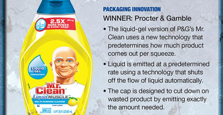 Procter & Gamble: 2014 Supplier Leadership Award winner for Packaging Innovation