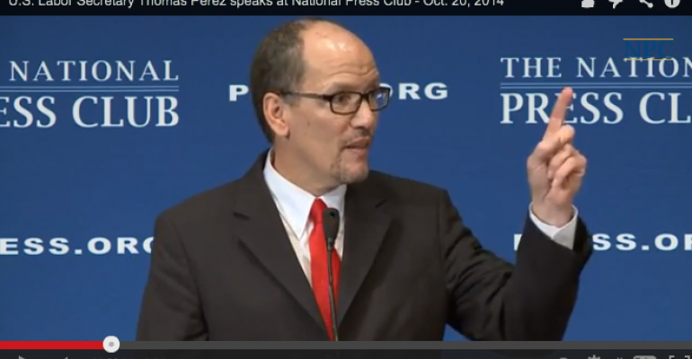 U.S. Labor Secretary salutes Market Basket