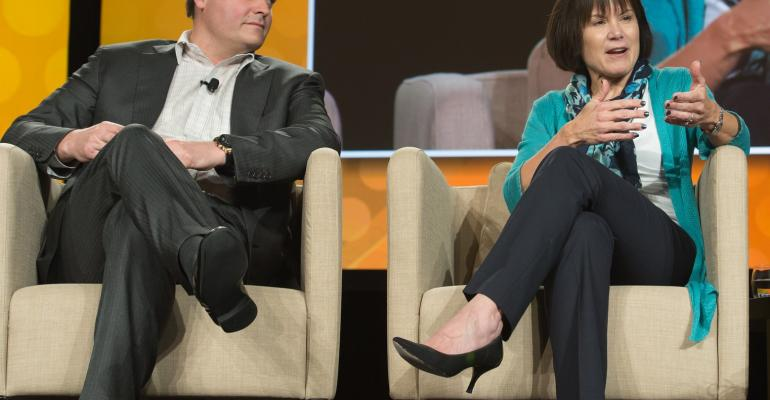 Justin Dye of New Albertsons and Sue Klug of Unified Grocers discuss marketing to Millennials