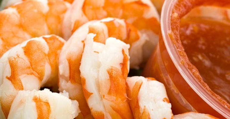Hannaford promotes Gulf shrimp for football treats