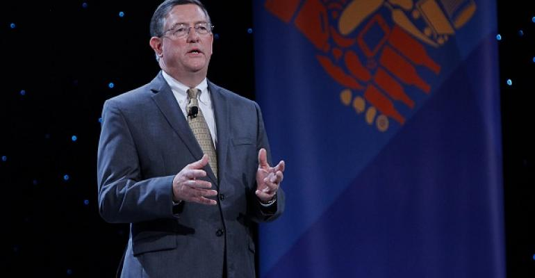 NGA CEO Peter Larkin emphasized how important innovation in technology is to association members
