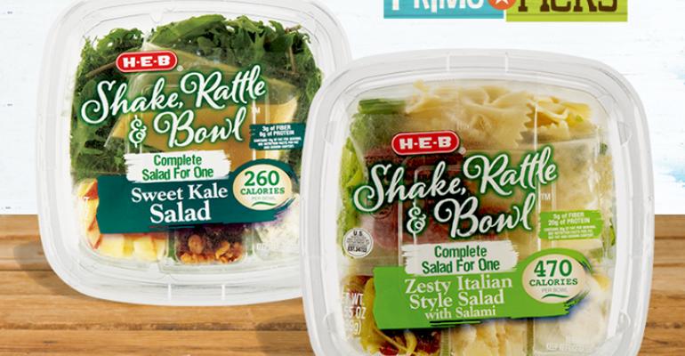 H-E-B launches salad kits