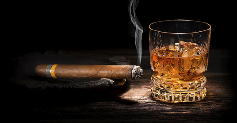 Jungle Jim's breaks out the cigars (and scotch)