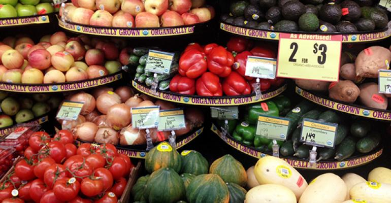 Retailers segregate organic in produce departments