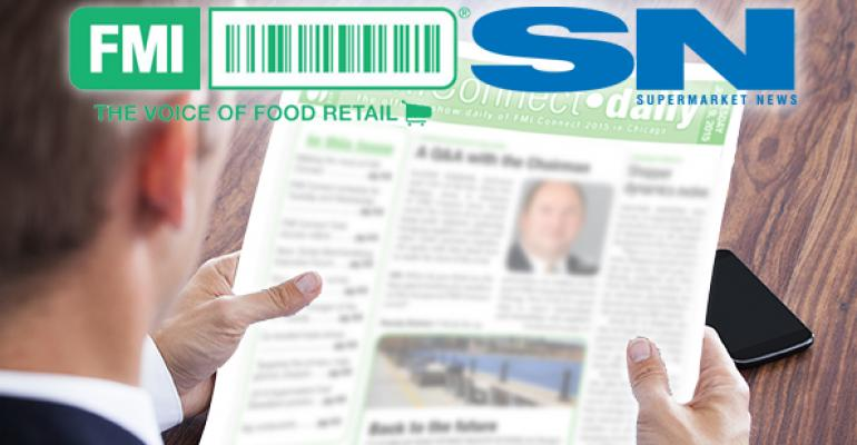 SN, FMI partner for show daily magazine