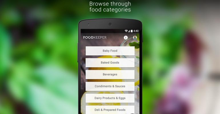 USDA launches food storage app for consumers