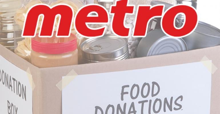 New Metro program to donate 1 million kg of food a year