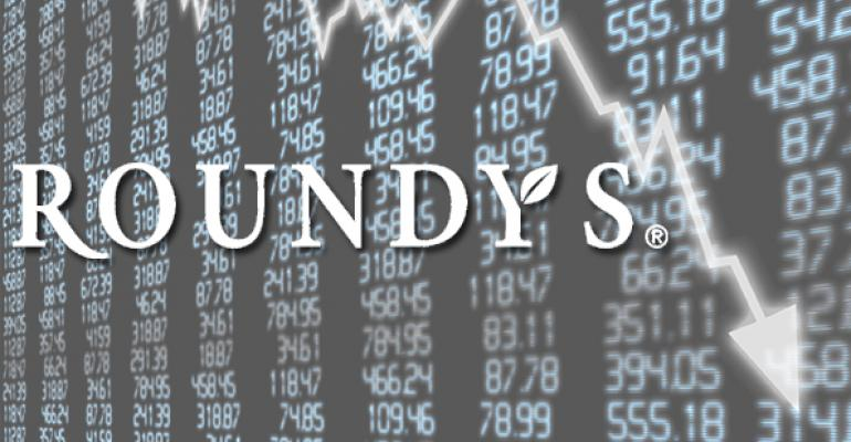 Roundy's posts Q1 loss