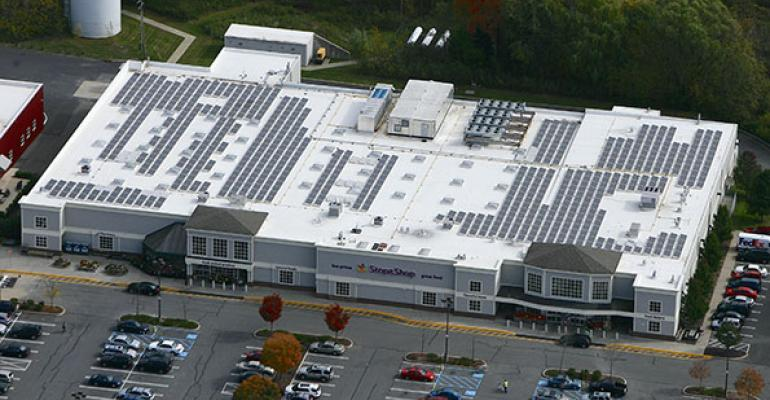 Stop amp Shop has installed solar panels on the roofs of 31 stores including one in Rhinebeck NY Photo courtesy of Stop amp Shop