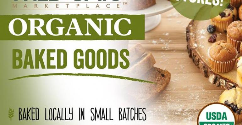 Fresh & Easy ups organic bakery offering from Wild Oats