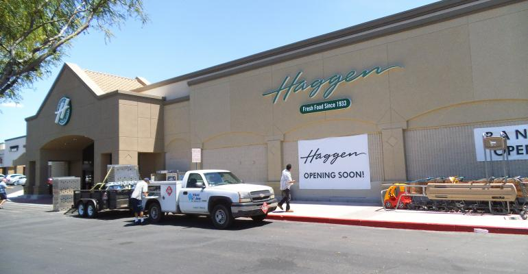 Haggen converted a former Safeway store in Tucson