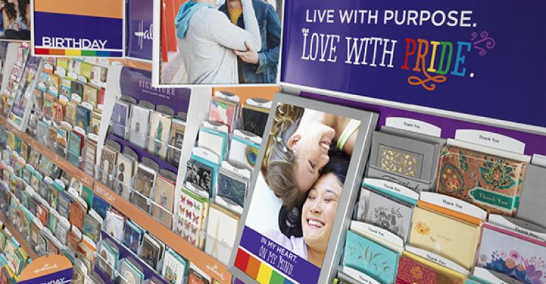 Walgreens' greeting cards cater to gay community