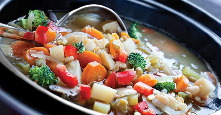 Souper Suppers: Burgeoning lines of cooking soups and sauces facilitate meal prep