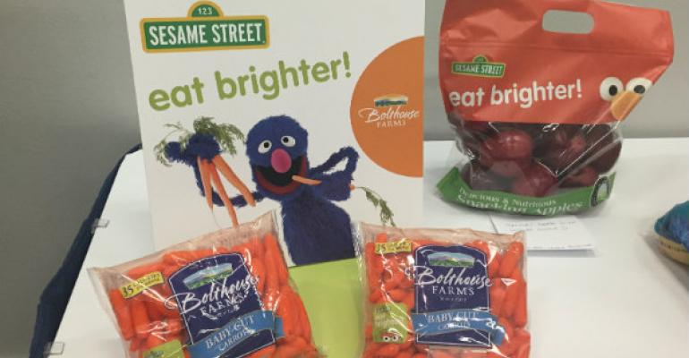 Retailers report produce sales bump from 'Eat Brighter'