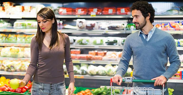 Food retailer as marriage counselor