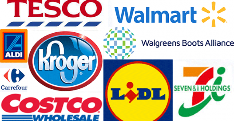 Walmart leads 2015 Top 25 Global Retailers