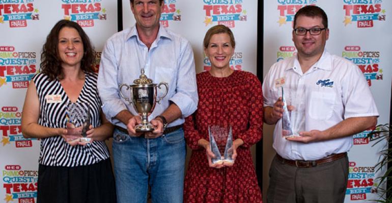 Gelato, vanilla wafers, pie named H-E-B's 'Texas Best'