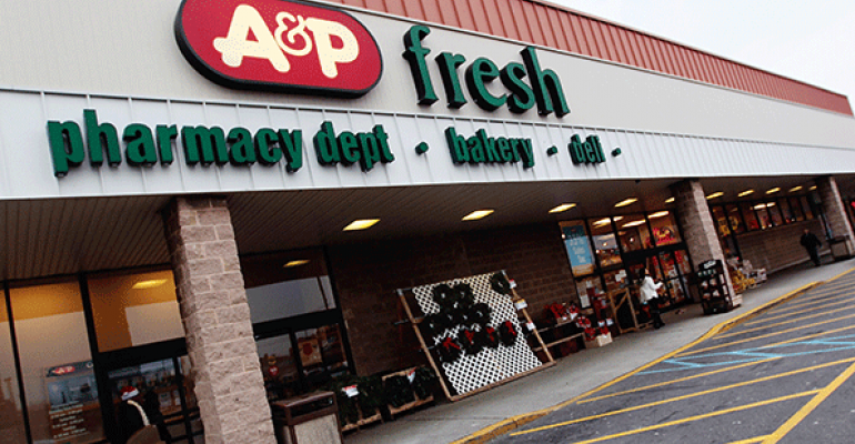 A&P to issue layoff notices at all stores