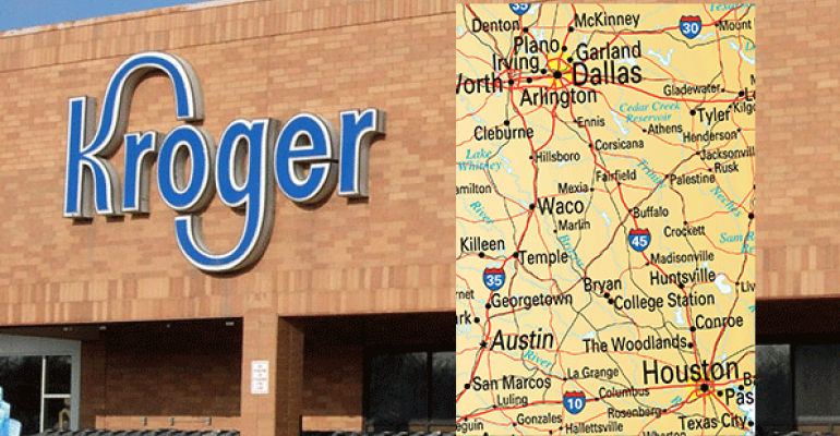 Kroger to establish separate Dallas, Houston divisions