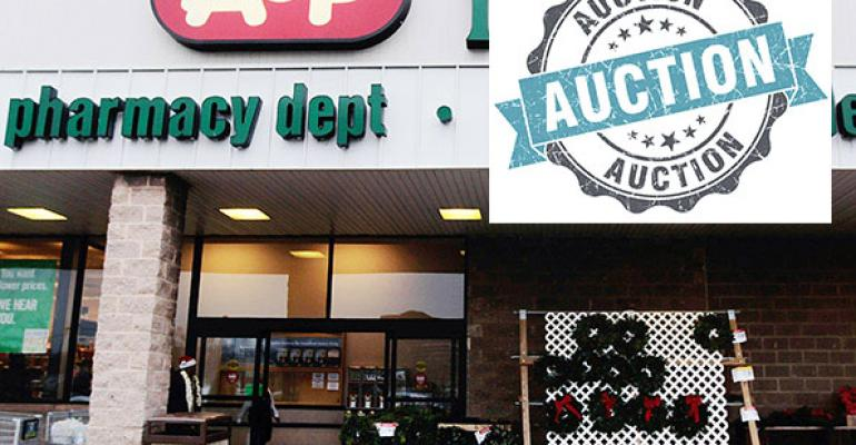 Auctions set for A&P stores