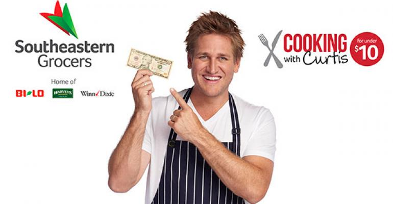 Southeastern Grocers partners with Curtis Stone on family meal planning