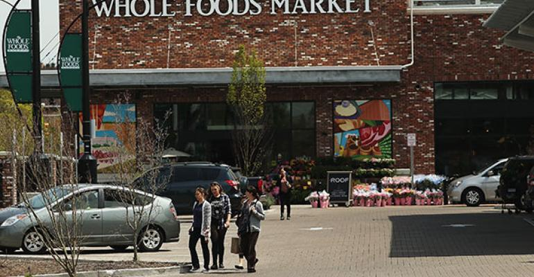 The 56000squarefoot Whole Foods Market in Brooklyn NY