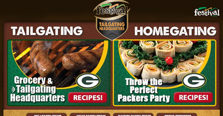 Festival Foods has a special website with recipes and tips for tailgating and athome football watching parties