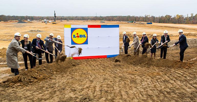 Company and Virginia officials break ground on Lidlrsquos regional HQ and DC in Fredericksbug Va