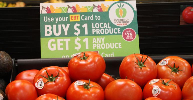 Double Up Food Bucks has brought new customers into Balls Food Stores Photo courtesy of the Fair Food Network