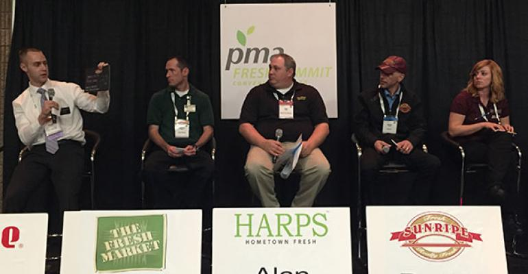 Five produce managers discussed their experiences in the industry at PMA39s Fresh Summit in Atlanta last month