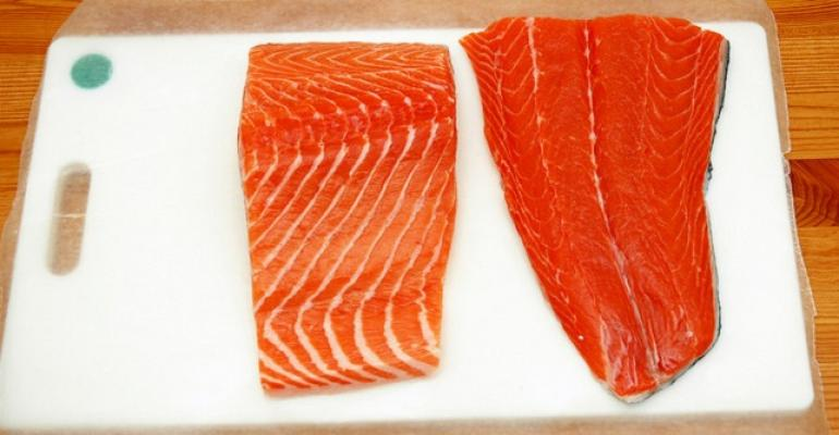 Hy-Vee, Costco say no to GE salmon