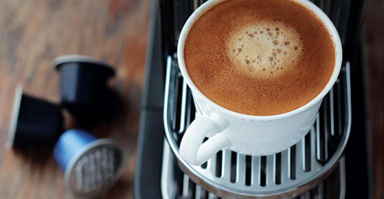Consumers put a premium on specialty coffee pods