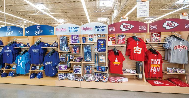 In the eight states where it operates sports marketing has allowed HyVee to get behind the community