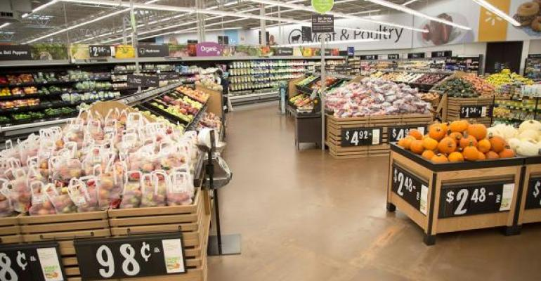 Walmart chief merchandising officer Steve Bratspies is quotoptimistic about our growthquot in fresh foods