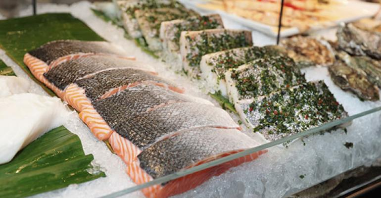 Ahold highlights 100% sustainable seafood