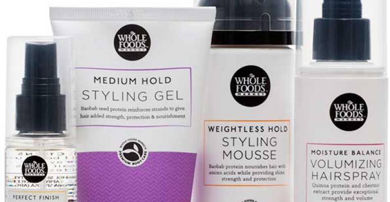 Whole Foods debuts plant-based hair care line