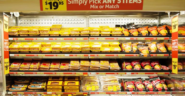 A new quotPick 5quot program includes meat and items from around the store Photo courtesy of Southeastern Grocers