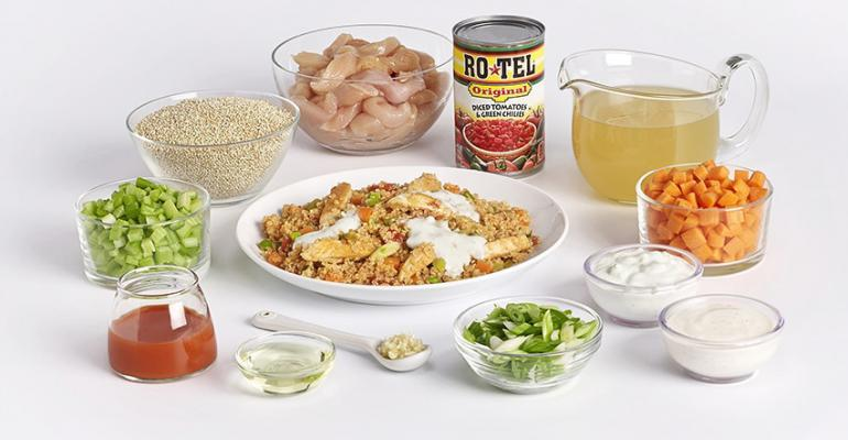 Peapod39s new meal kits come with precut and premeasured ingredients Photo courtesy of Peapod